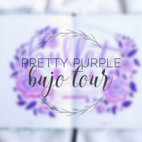 Pretty Purple Bullet Journal Tour
